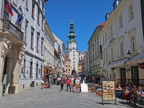 Bratislava in the Slovak Republic