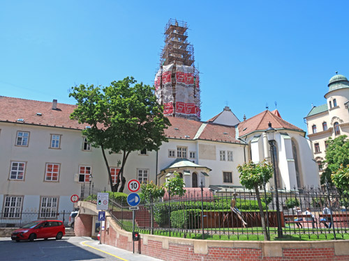 Franciscan Church and Monastery, Bratislava Slovak Republic